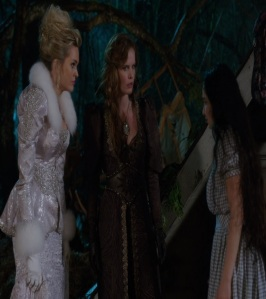 Zelena wicked witch and glinda the good witch meet Dorothy Gale once upon a time ABC