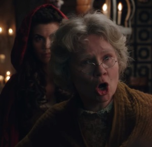 Granny and Ruby Red Once upon a time ABC