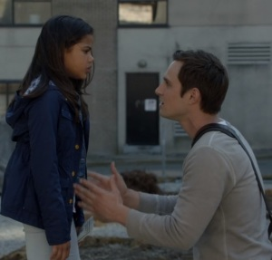 Henry Mills with his daughter Lucy once upon a time ABC
