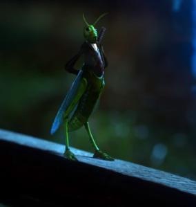 Grasshopper form Archie Hopper Jiminy Cricket once upon a time ABC