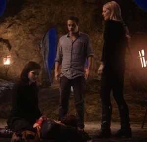 Neal Cassidy Emma Swan Regina find Henry mills in Neverland Once Upon a time ABC
