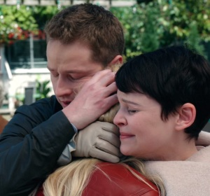 Prince Charming David and snow white reunite with Emma Swan once upon a time ABC Josh Dallas