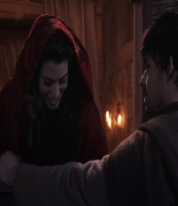 Ruby Red meeting her boyfriend Once upon a time ABC