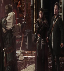 Mulan and neal Cassidy meet Robin Hood once upon a time ABC