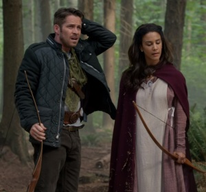 Maid Marian and Robin Hood bows once upon a time ABC