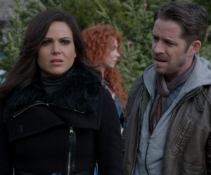 Robin Hood gets back together with Regina once upon a time ABC