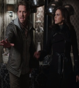 Regina Mills and Robin Hood vs Hades once upon a time ABC