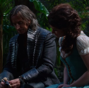 Rumplestiltskin costume Neverland once upon a time ABC Robert Carlyle