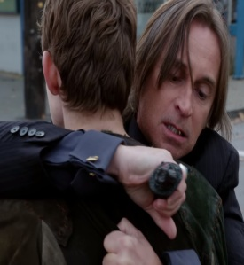 Rumplestiltskin kills his father Peter Pan once upon a time ABC Robert Carlyle