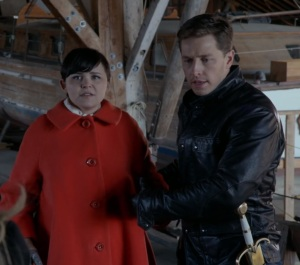 Prince Charming David Nolan and snow white vs Zelena once upon a time ABC Josh Dallas