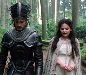 The Huntsman tries to kill Snow White once upon a time ABC