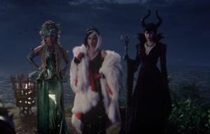 Once upon a time Ursula cruella de vil and Maleficent