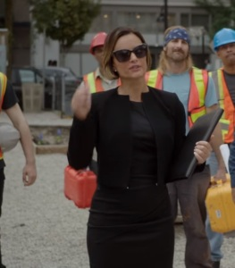 Once upon a time Victoria Belfrey dress and sunglasses