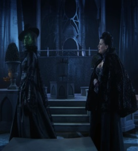 Regina meets her sister Zelena wicked witch once upon a time ABC