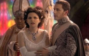 Once upon a time snow white prince charming wedding