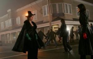 Once upon a time Regina vs Zelena magic battle