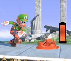 Recharging ink Inkling super Smash Bros ultimate Nintendo Switch splatoon