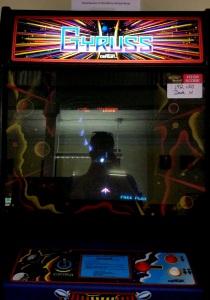 Gyruss arcade cabinet machine