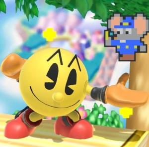 Pac-Man Super Smash Bros ultimate Nintendo Switch Bandai Namco