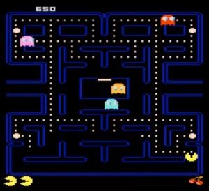 Pac-Man Atari 7800 version