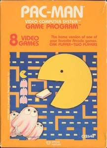 Pac-Man Atari 2600 boxart