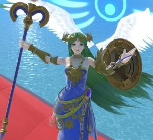 Lady Palutena Super Smash Bros ultimate Nintendo Switch kid icarus