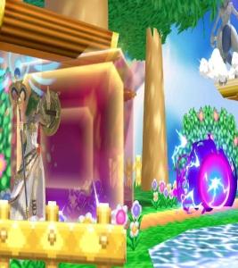 Palutena using reflect against Mewtwo Super Smash Bros ultimate Nintendo Switch kid icarus
