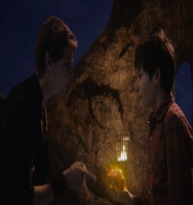Henry Mills gives Peter Pan his heart once upon a time ABC