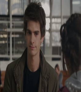 Peter Parker at school The Amazing Spider-Man Andrew Garfield