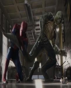 Spider-man vs the Lizard The Amazing Spider-Man Andrew Garfield