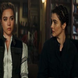 Milena and Yelena Belova black widow 2021 Rachel Weisz