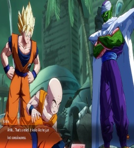 Piccolo finds injured Gohan dragon Ball FighterZ Nintendo Switch Xbox One PS4