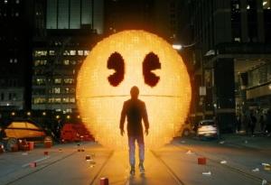 Evil Pac-Man Pixels 2015 Film