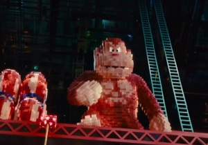Donkey Kong Pixels 2015 Film