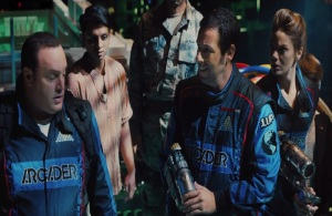 Sam Brenner and will Cooper Pixels 2015 Film