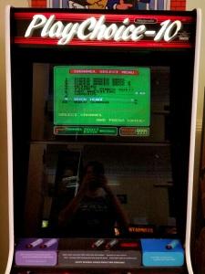 PlayChoice 10 Nintendo arcade machine
