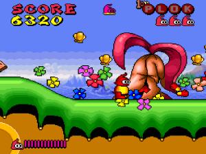 Level 1 Plok snes super Nintendo
