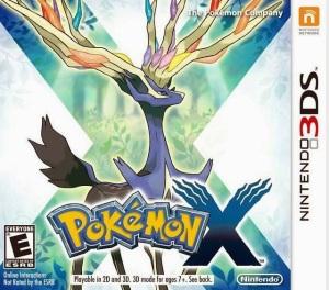 Pokemon X Nintendo 3DS boxart