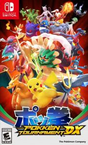 Pokken Tournament DX Nintendo Switch Bandai Namco boxart