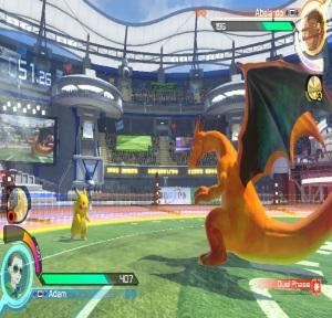 Pikachu vs Charizard Pokken Tournament DX Nintendo Switch Bandai Namco