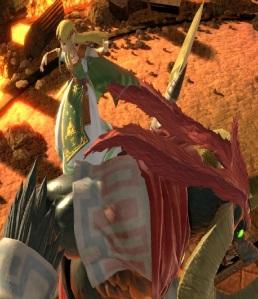 Princess Zelda vs Ganon boss super Smash Bros ultimate Nintendo Switch