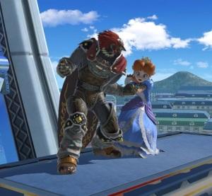 Ganondorf vs princess Daisy Prism Tower super Smash Bros ultimate Nintendo Switch Pokémon