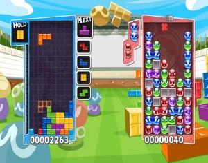 Tetris vs puyo pop Puyo Puyo Tetris Nintendo Switch Sega