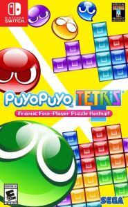 Puyo Puyo Tetris Nintendo Switch Sega boxart