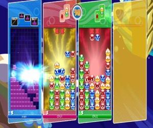 Online multi-player Puyo Puyo Tetris Nintendo Switch Sega
