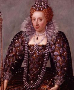 Queen Elizabeth tudor redhead
