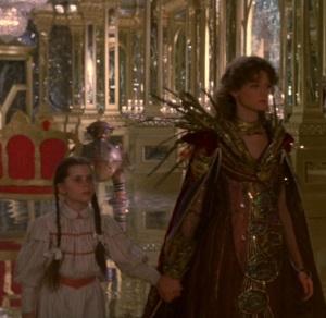 Dorothy Gale meets princess Mombi Return to Oz disney