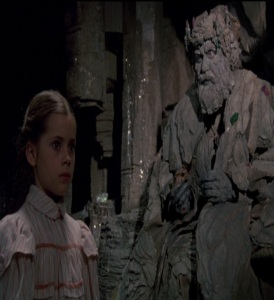 Dorothy Gale tested by the Nome King Return to Oz disney