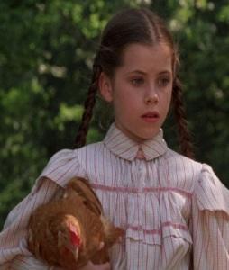 Dorothy Gale holding oet chicken Return to Oz disney