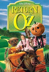 Return to Oz disney movie poster